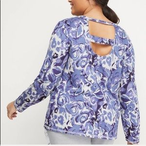 Lane Bryant Open-Back Active Top
